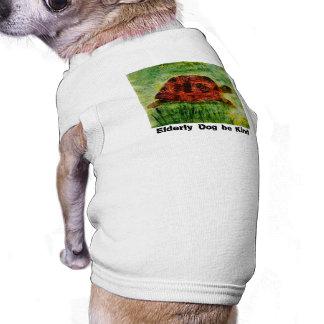 Tortoise Animal Art for older dogs Shirt