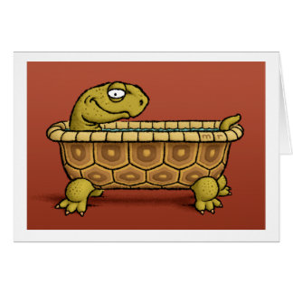 Tortoise Bath Card