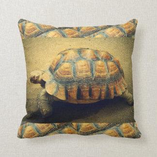 Tortoise Beach Shell Throw Pillow