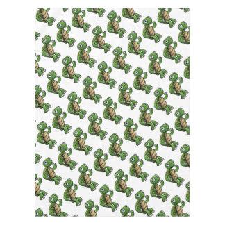 Tortoise Cartoon Character Tablecloth