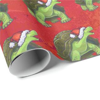 Tortoise Christmas On Red