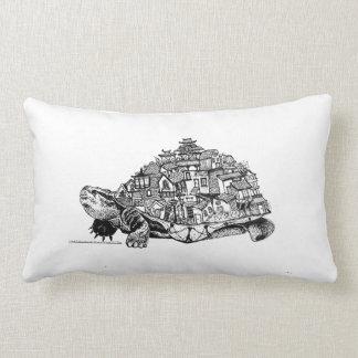 Tortoise city lumbar pillow