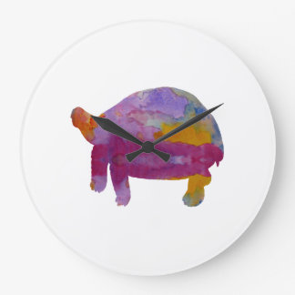 Tortoise Large Clock