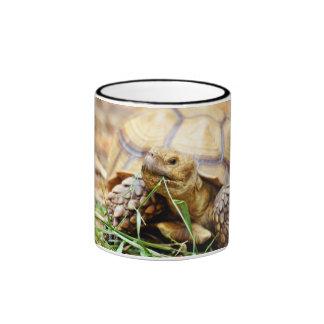 Tortoise Munching Grass Coffee Mug