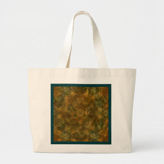 Tortoise Shell Pattern Large Tote Bag