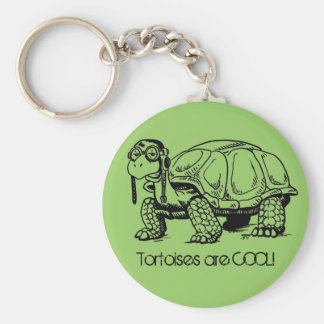 Tortoises are COOL! Keychain