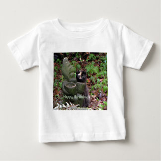 Tortoiseshell Cat HAPPY BIRTHDAY Baby T-Shirt