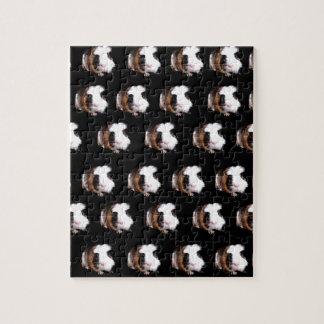 Tortoiseshell Guinea Pig Pattern, Jigsaw Puzzle