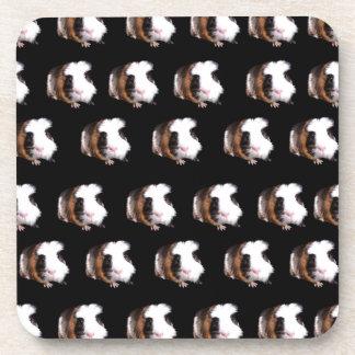 Tortoiseshell Guinea Pigs Pattern, Coaster