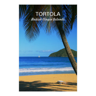 Tortola, British Virgin Islands poster