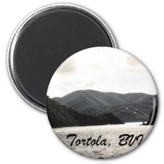 Tortola, BVI 6 Cm Round Magnet