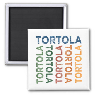 Tortola Cute Colorful Magnet