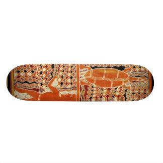 Tortuga Maori Tribal Skateboard