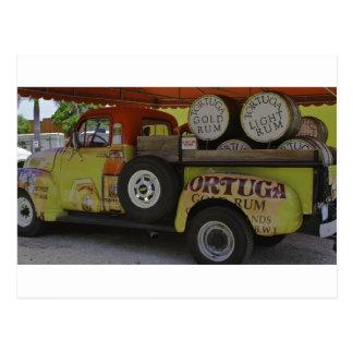 Tortuga Rum Postcard