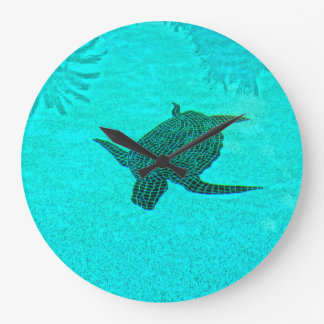 Tortuga Turtle Mosaic on Sanibel Island Florida Wallclock