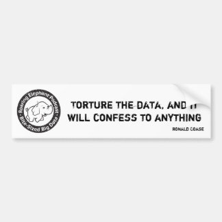 Torture data for fun and profit bumper sticker