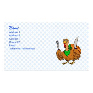 Tory Turkey Business Card Template