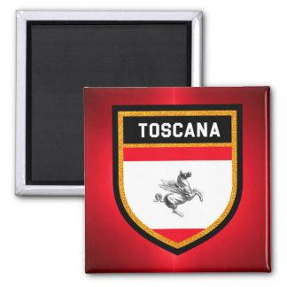 Toscana Flag Square Magnet