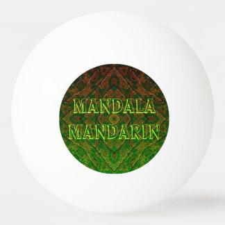 Toscana-Sunset Mandala-Mandarin Ping-Pong Ball