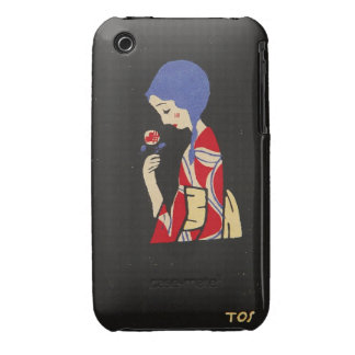 Toshio Ito, Girl With Flower Blackberry Bold Case-