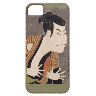 Toshusai_Sharaku iPhone 5 Cases