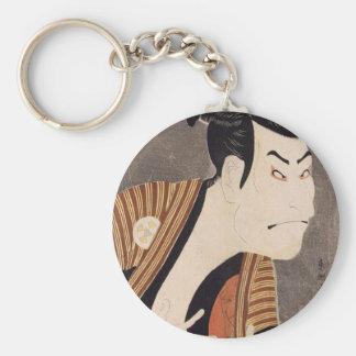 Toshusai_Sharaku Key Ring