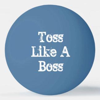 Toss Like A Boss Beer Pong Ping Pong Ball