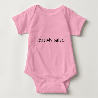 Toss My Salad Baby Bodysuit
