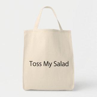 Toss My Salad Canvas Bag