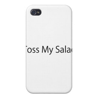 Toss My Salad Cover For iPhone 4