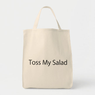 Toss My Salad Grocery Tote Bag