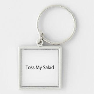 Toss My Salad Keychains