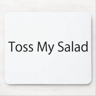 Toss My Salad Mousepads
