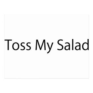 Toss My Salad Postcards