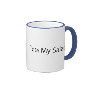 Toss My Salad Ringer Mug