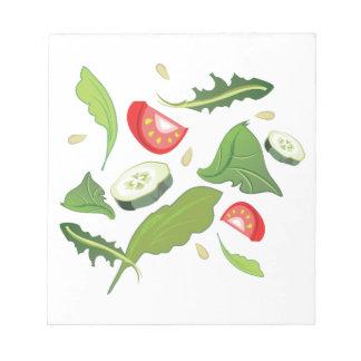 Toss Salad Memo Note Pads
