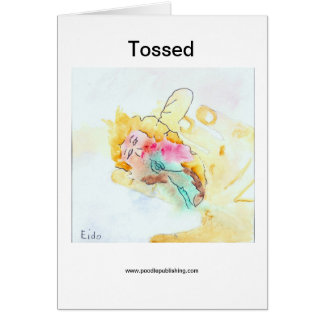 Tossed Greeting Card