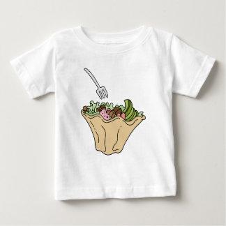 Tostada Salad Mexican Food Tshirt