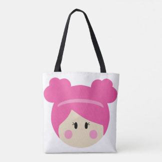 Tot Bag - Pink and Blue!