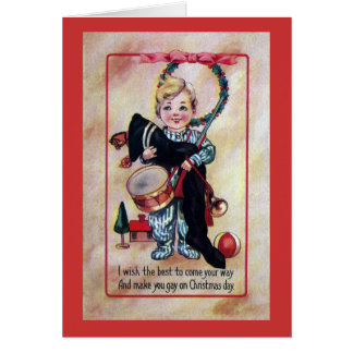 Tot Toting Xmas Loot Card