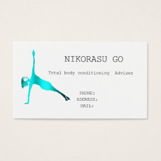 Total body conditioning business card
