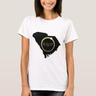 Total Eclipse Corona South Carolina Silhouette T-Shirt