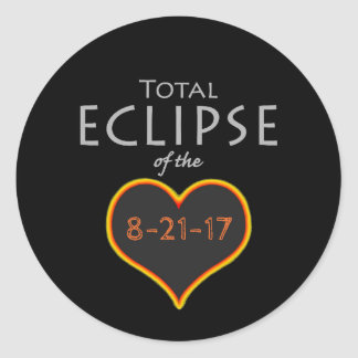 total eclipse heart sticker