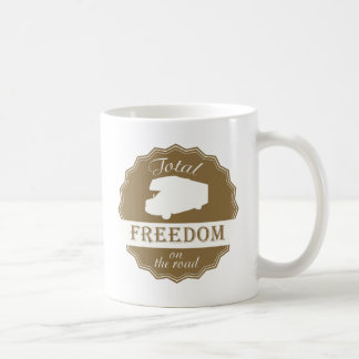 Total Freedom on the Road Class C RV Mug