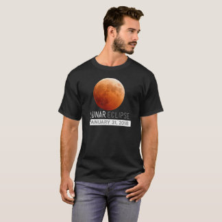 Total Lunar Eclipse 2018 January 31st Gift Apparel T-Shirt