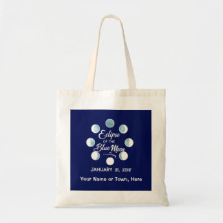 Total Lunar Eclipse 2018 Personalized Tote Bag