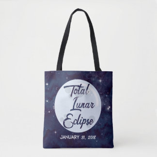 Total Lunar Eclipse Personalised Tote