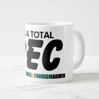 Total Rec Jumbo Mug - Green Font