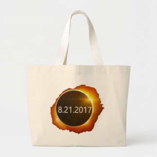 Total-Solar-Eclipse2 Large Tote Bag