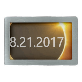 Total-Solar-Eclipse2 Rectangular Belt Buckle